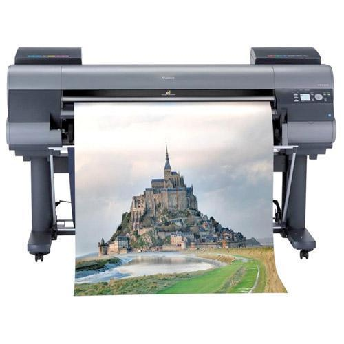"Absolute Toner Pre-Owned 44"" Canon imagePROGRAF iPF8400 Large Format Printer with stand 12-Colour Professional Photo and Fine Art Large Format Printer"