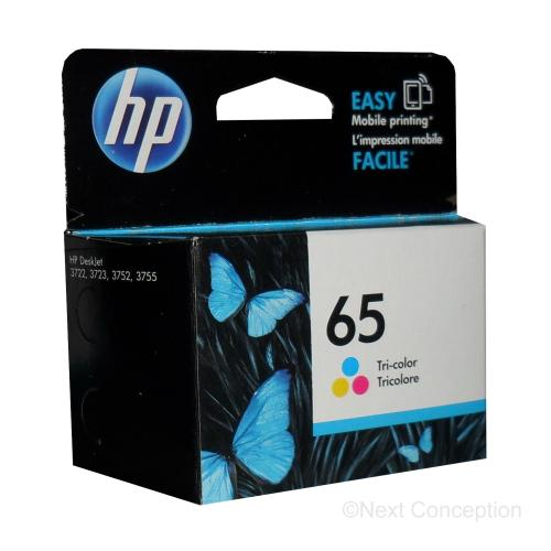 Absolute Toner N9K01AN#140 HP #65 TRICOLOR INK FOR DESKJET 3723/3752/3755 HP Ink Cartridges