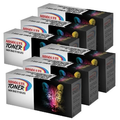 6 Brother TN-1030/TN-1060 Compatible Black Toner Cartridge Combo