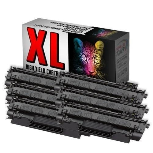 Absolute Toner Compatible 6  Toner Cartridge for HP CE505X 05X High Yield of CE505A 05A HP Toner Cartridges