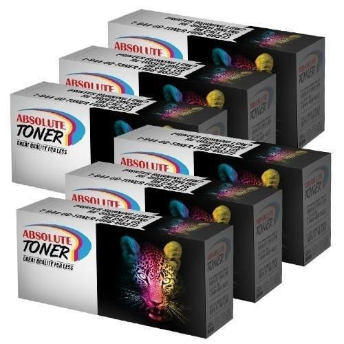 6 Toner Cartridge HP Q1338A Compatible Black Combo (HP 38A)