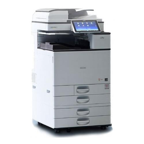 Absolute Toner New Repossessed Ricoh MP C2504 Color Laser Multifunction Printer 12x18 Warehouse Copier