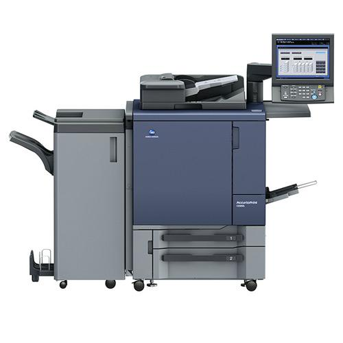 Absolute Toner Konica Minolta Accuriopress C2060 Color Printing Press Copier Office Copiers In Warehouse