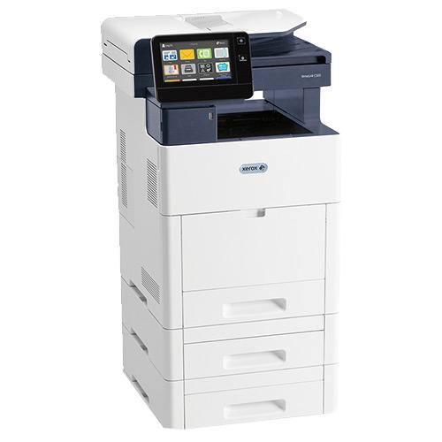 Absolute Toner REPOSSESSED Xerox VersaLink B605 Monochrome Multifunction Production Laser Printer 58 PPM Office Copiers In Warehouse