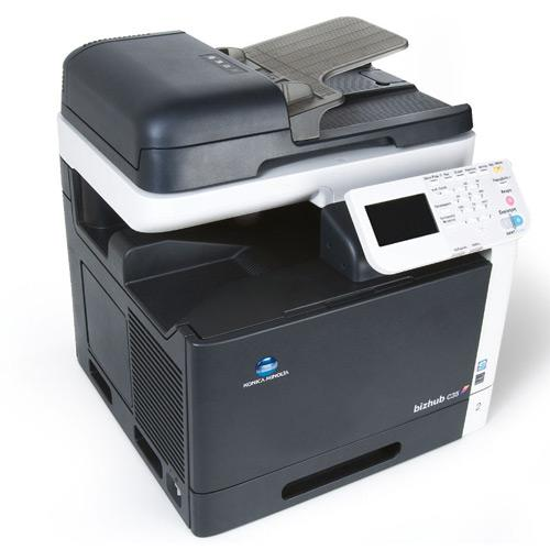 Konica Minolta Bizhub C35 Color Copier Printer Scanner - REPOSSESSED