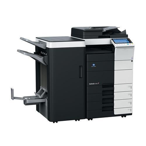 "$ 79/Month only 321 Page Count Repossessed New Konica Minolta BizHub C554e Color Multifunction Copier - 55ppm, Tabloid, Copy, Print, Scan, DADF, Duplex, 12"" x 18"", 11"" x 17"""