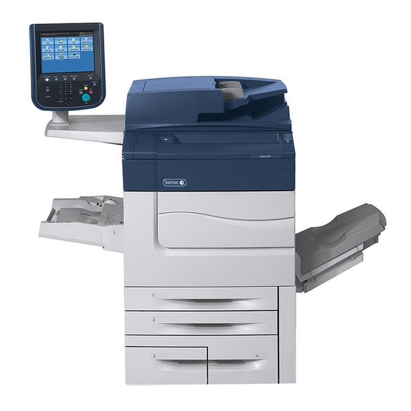 Absolute Toner Xerox C60 Production Color Multifunctional Laser Printer Copier For Business - $125/month Showroom Color Copiers