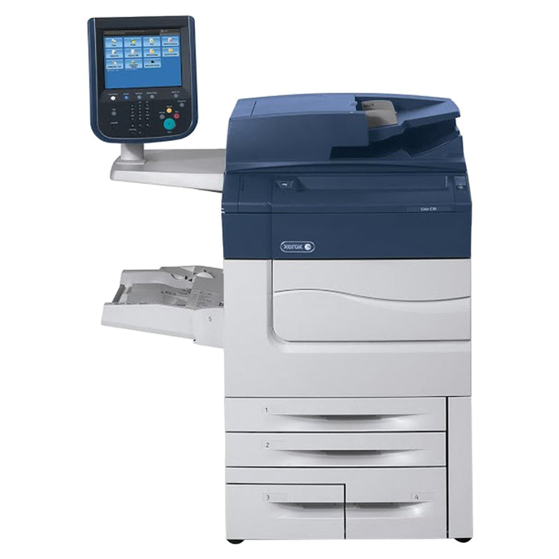 Absolute Toner Xerox C70 Color Laser Multifunctional Printer Copier Scanner For Business | Professional Multifunctional Printer - $125/Month Showroom Color Copiers