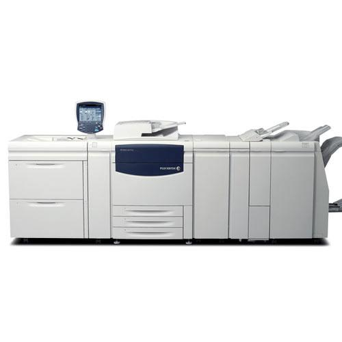$199/month - REPOSSESSED Xerox Color C75 Press Production Printer Business Large Capacity Tray Copier Booklet maker Finisher