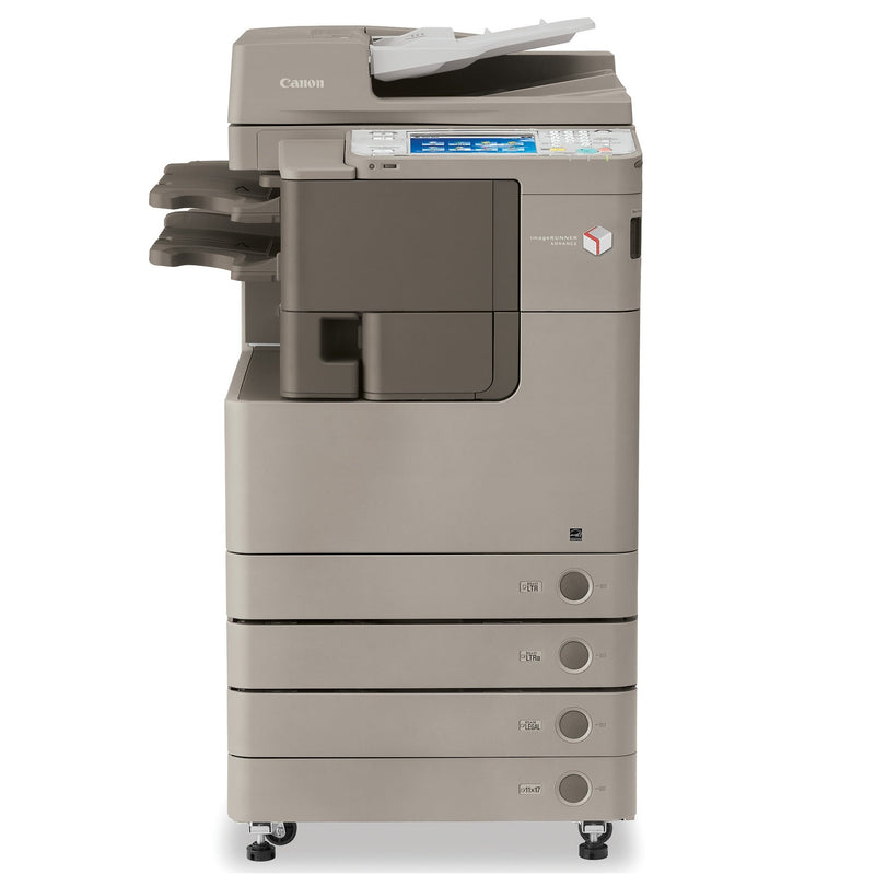 Absolute Toner Canon imageRUNNER ADVANCE 4045 (IRA 4045) Monochrome Multifunction Laser Printer, Copier, Scanner With Finisher, Stapler, 4 Paper Cassettes, LCD, 11x17 Showroom Monochrome Copiers