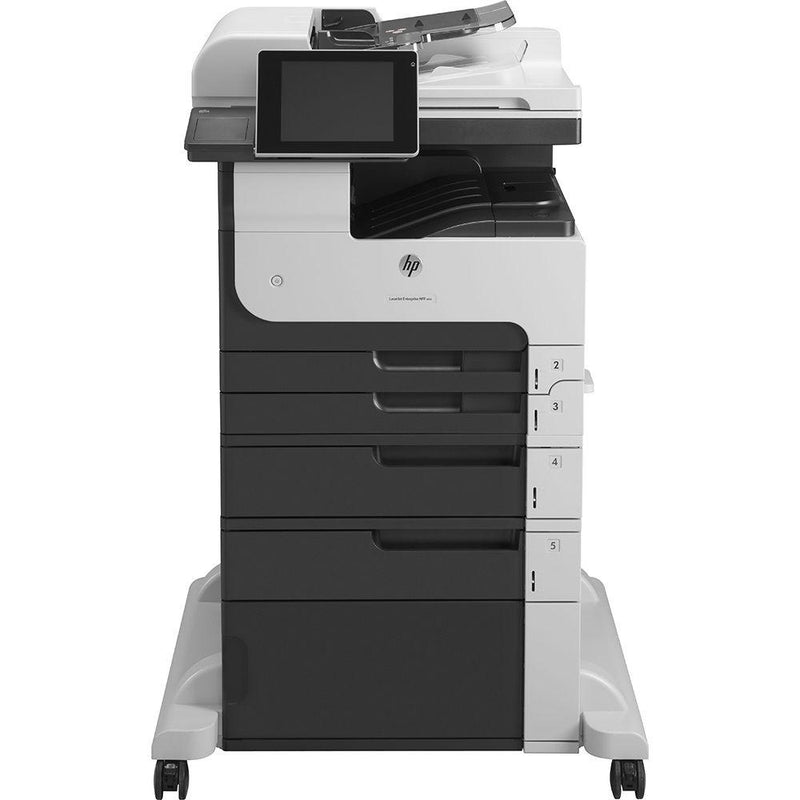 Absolute Toner HP LaserJet Enterprise 700 M725dn Multifunction Monochrome Airprint, ePrint Laser Printer Copier Scanner, 11x17 Showroom Monochrome Copiers