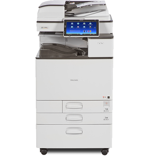 Absolute Toner $59/Month Ricoh MP C2504 Color Laser Multifunction Office Multifunction Printer Copier Scanner 11X17, 12x18, 300gsm Showroom Color Copiers