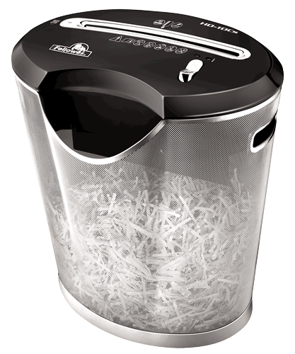 Absolute Toner Fellowes Powershred HD-10Cs Paper Cross-Cut Shredder Shredders