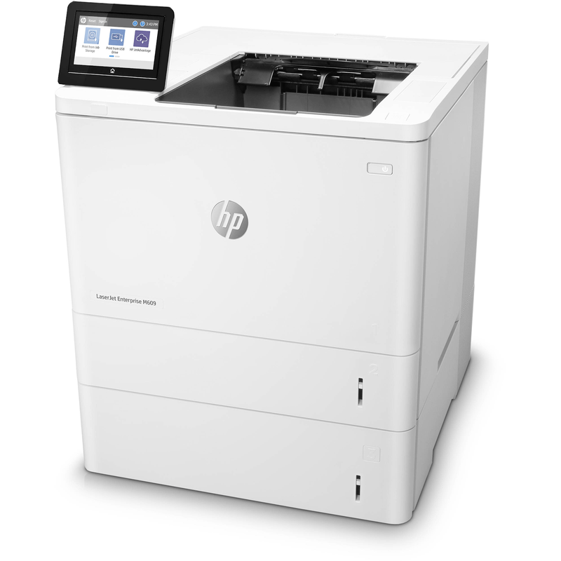 Absolute Toner HP B/W Laserjet M609 (M609x) Laser Printer Monochrome 1200 x 1200 dpi Print HIGH SPEED upto 71 PPM Laser Printer