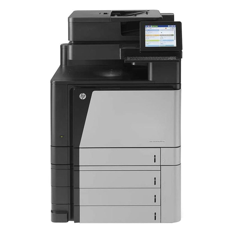 Absolute Toner HP Color LaserJet Enterprise Flow M880 MFP Letter/Legal-Size Color Multifunction Laser Printer (Low 25k meter) For Office - $49/Month Showroom Color Copiers