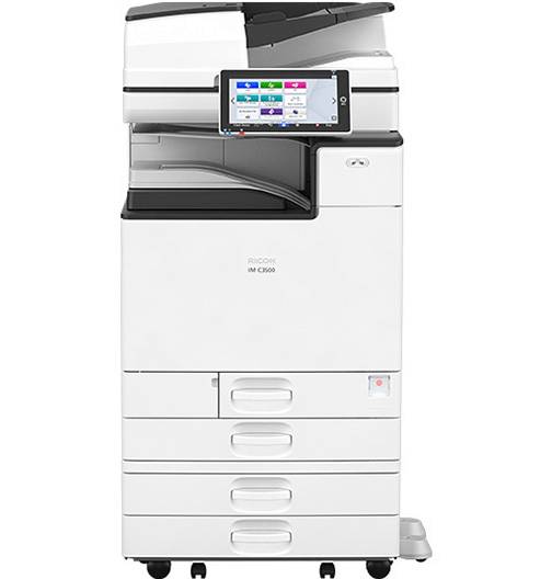 Absolute Toner $95/Month Ricoh Color IM C3000 NEW ONLY 3K pages printed 30PPM Multifunction Colour Office Laser Printer Copier Scanner, Photocopier One-Pass Duplex, 300gsm Showroom Monochrome Copiers