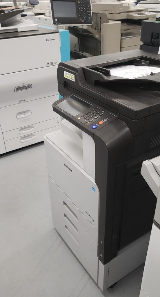 Absolute Toner Samsung SCX-8128NA 8128 Monochrome Printer Copier Scanner Scan 2 email 11x17 Showroom Monochrome Copiers