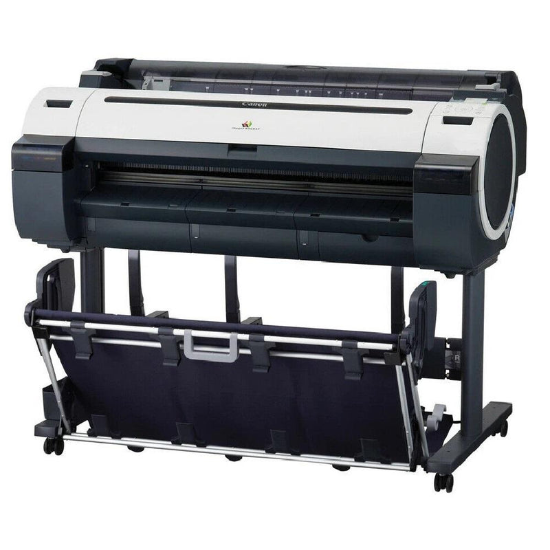 "Absolute Toner Canon imagePROGRAF iPF780 Wide Format 36"" Color Multifunction Printer With Stand 