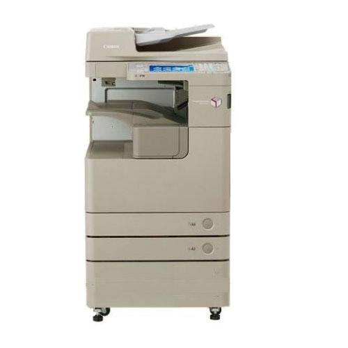 Pre-owned Canon ImageRUNNER Advance IRA 4025 Black and White Copier Printe Color Scanner FAX Scan to Email 11x17 12x18