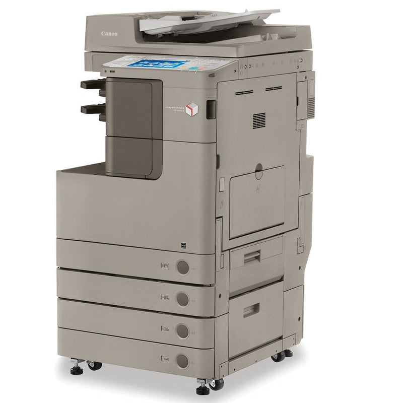 Absolute Toner Canon imageRUNNER ADVANCE 4225 Black & White Multifunction Printer, Copier, Scanner, 11 x 17 For Office | Monochrome IRA4225 - $35/Month Showroom Monochrome Copiers