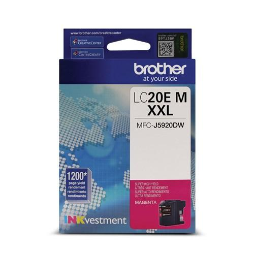 Absolute Toner Brother LC20EM Magenta Super High Yield Genuine OEM Ink Cartridge Brother Ink Cartridges