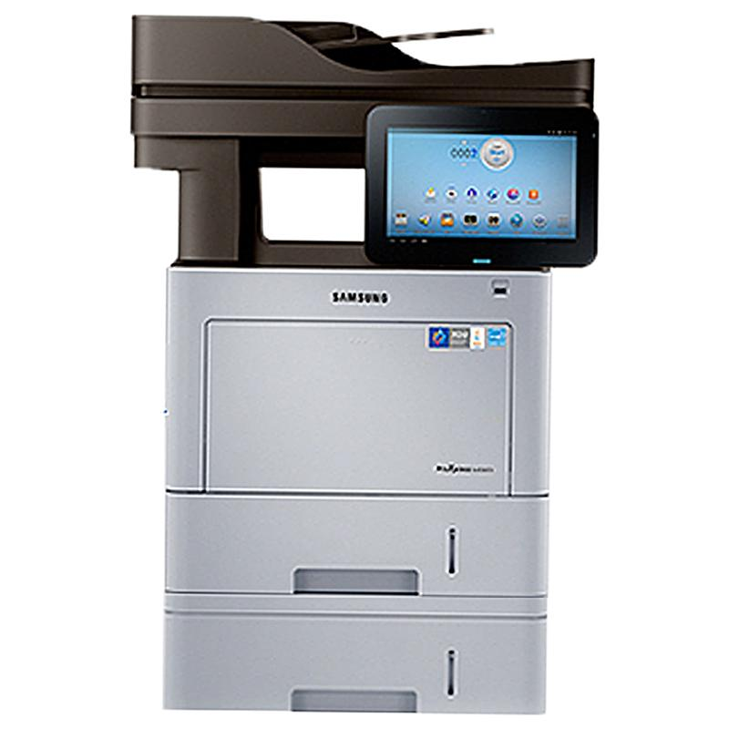 Absolute Toner Samsung ProXpress SL-M4580FX Black & White Multifunction Monochrome Laser Printer Copier Scanner With 2 Trays + Bypass tray For Office Showroom Monochrome Copiers