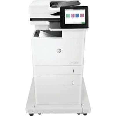 Absolute Toner $59/month BRAND NEW from REPO- HP Laserjet Enterprise MFP M632z Monochrome Multifunction Laser Printer Scanner Office Copier Laser Printer