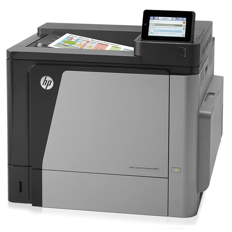 Absolute Toner HP Color LaserJet Enterprise M651dn (Meter Only 9435 pages) Wireless Color Laser Photo Printer (CZ256A) For Office Use - $18.50/Month Showroom Color Copiers
