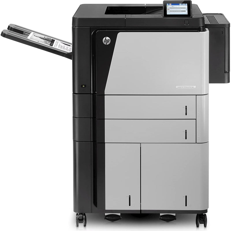 Absolute Toner HP LaserJet Enterprise M806 (Meter Only 3700 pages) Super High Speed Monochrome Multifunction Laser Printer, 11x17 Larger Economical Toner | M806x+ Black & White Laser Printer - $35/Month Showroom Monochrome Copiers