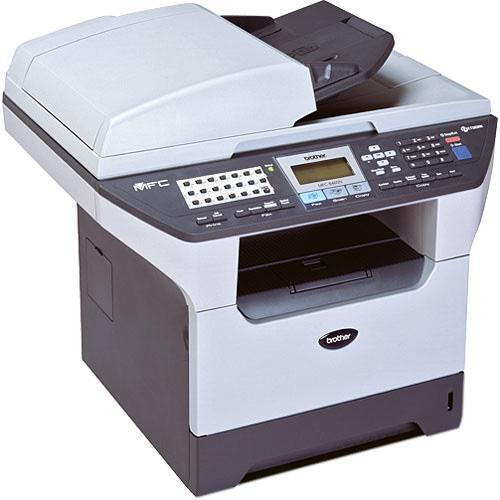 Absolute Toner Brother MFC-8480DN Laser All-in-One Black and White Printer Print Copy Scan Fax USB - Refurbished Laser Printer