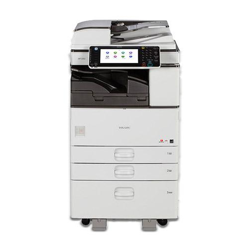 REPOSSESSED  Ricoh MP 3053 Black and White Printer Copier Color Scanner Copy Machine - 39k Pages Printed