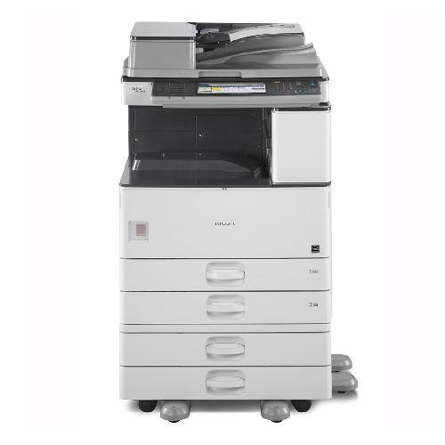 Absolute Toner Only 39k pages - Ricoh MP 3353 Monochrome Multifunction Photocopier 11x17 REPOSSESSED Lease 2 Own Copiers