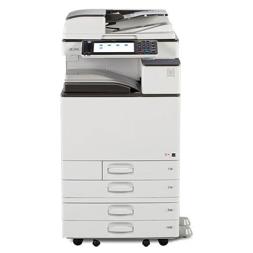 REPOSSESSED - Ricoh MP 2554 Monochrome Multifunction Printer Copier Color Scanner 11x17 - Only 12k Pages Printed