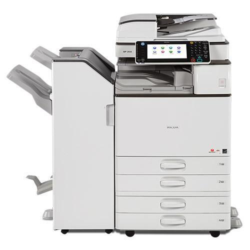 New Repossessed Only 5k Pages - Ricoh MP C3003 Colour Multifunction Laser Printer Copier 12x18 Stapler
