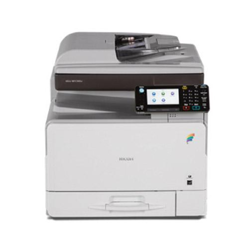 Absolute Toner Pre-owned Ricoh Color Laser Multifunction Printer MP C305spf C305 MFP FAST 30 PPM Office Copiers In Warehouse