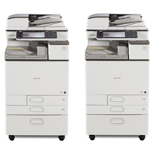 Absolute Toner SPECIAL DEAL - BUY 2 Ricoh MP C3503 Color Multifuction Office 11x17 12x18 Copier 35PPM - Pre owned Office Copiers In Warehouse
