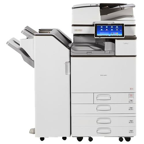 Absolute Toner $75/month - Ricoh MP C4504 45PPM Colour Multifunction Office Laser Printer Copier Scanner, 11x17, 12x18, 300gsm, One-Pass Duplex, 180ipm Lease 2 Own Copiers