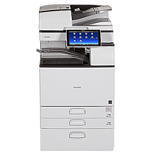 Absolute Toner Ricoh MP 3055 Black And White Laser Multifunction Printer Copier 11X17, 12x18 For Office - $75/Month Showroom Monochrome Copiers