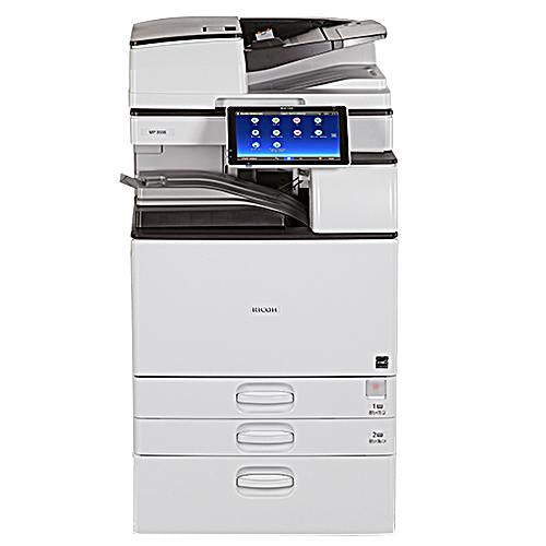 Absolute Toner Ricoh MP 3555 Black And White Laser Multifunction Printer Copier 11X17, 12x18 For Office - $79/Month Showroom Monochrome Copiers