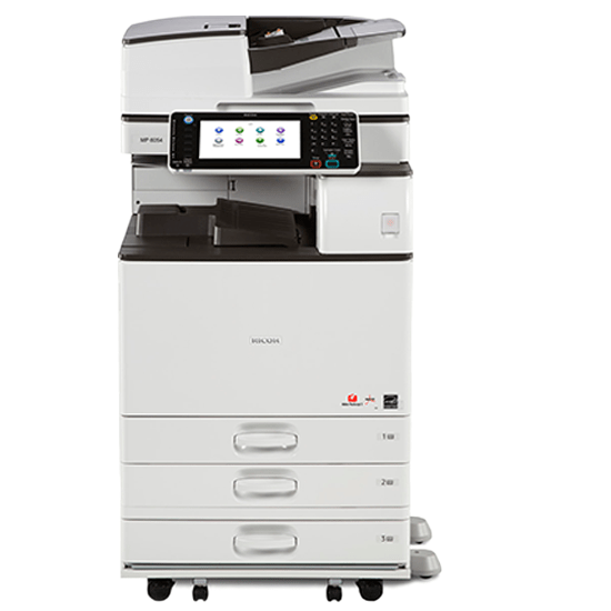 Absolute Toner Ricoh MP 4054 Monochrome Multifunction Laser Printer Copier Scanner 11X17, 12x18 For Office - $75/Month Showroom Monochrome Copiers