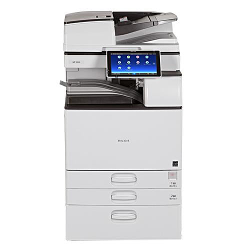 Absolute Toner Ricoh MP 5055 Mono Laser Multifunction Printer Copier 11X17, 12x18 For Office - $85/Month Showroom Monochrome Copiers