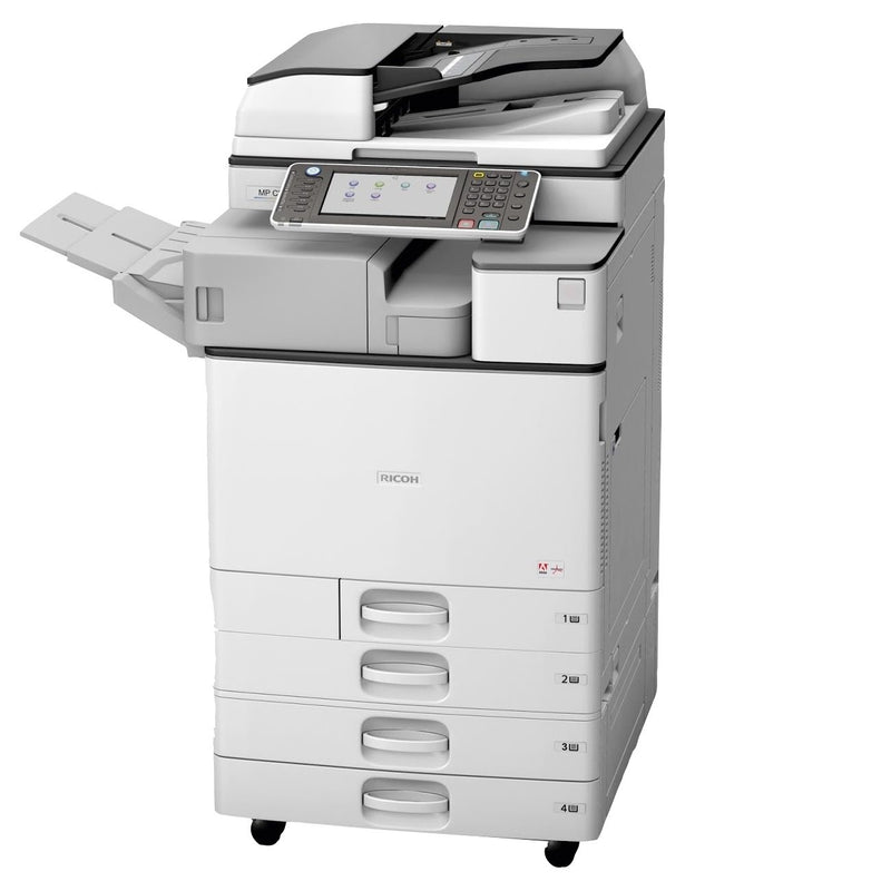 Absolute Toner Ricoh MP C2003 Color Multifunction Laser Printer Copier Scanner (11x17, 12x18) For Office - $34.99/Month Office Copiers In Warehouse