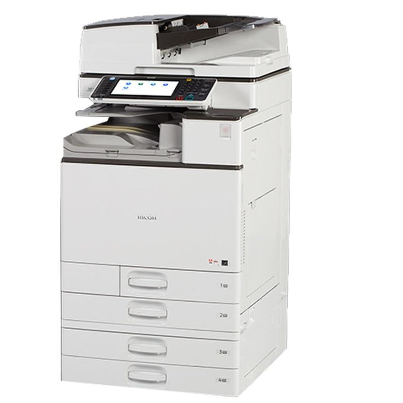 Absolute Toner Ricoh MP C4503 (LOW METER ONLY 385 PAGES) Color Laser Multifunction Copier Printer Scanner with ALL-INCLUSIVE Program - $95/Month Showroom Monochrome Copiers
