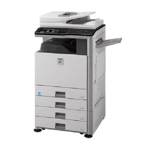 Absolute Toner Sharp MX-M453N Black and White Laser Multifunction MFP Copier Printer Scanner 45PPM Office Copiers In Warehouse