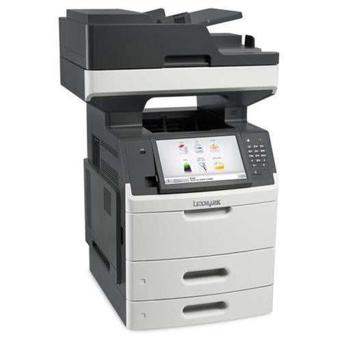 Absolute Toner Lexmark MX711de Monochrome Full Size High-Speed Multifunction Laser Printer, 2 Tray + Bypass, Duplex For Office  $27.95/Month Showroom Monochrome Copiers