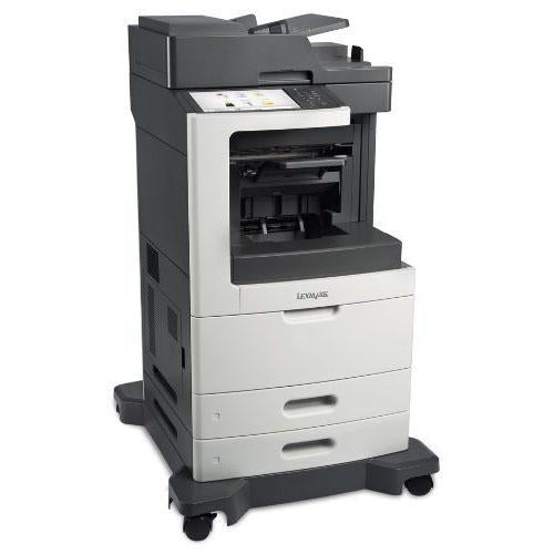 Absolute Toner NEW $46.99/month - From REPO Lexmark MX-810de Monochrome Laser Multifunction Printer Repossessed - Lease to Own a Powerful Office Printer Showroom Monochrome Copiers
