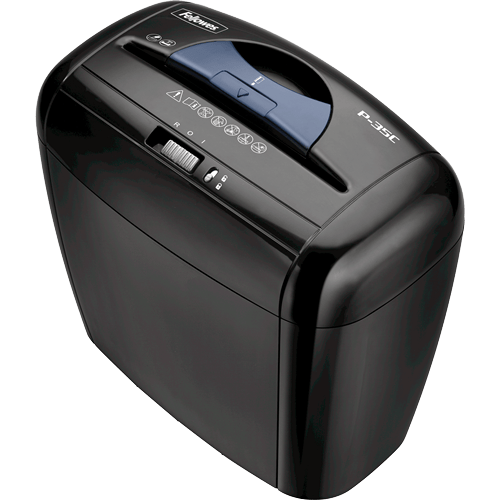 Absolute Toner Fellowes Powershred P-35C Cross-Cut Paper Shredder Shredders