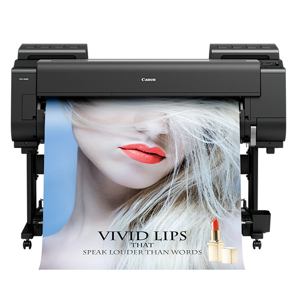 "Absolute Toner $98/mo. Canon ImagePROGRAF Pro-4100s 44"" Plotter Large Format Printer Large Format Printer"