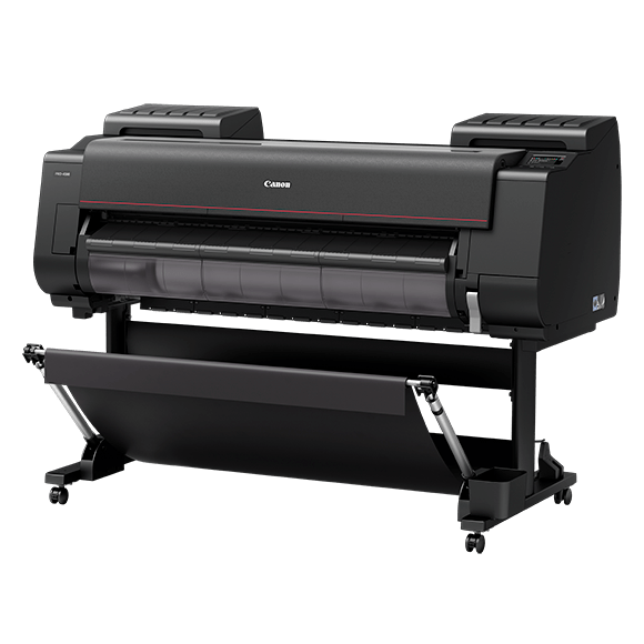 "Absolute Toner $140/mo. Canon imagePROGRAF Pro-4100 44"" Plotter Large Format Printer Large Format Printer"
