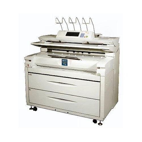 "36"" Ricoh Aficio 470W B/W Laser Multifunctional Engineering Digital Plan CAD designer Printer Scan REPOSSESSED"